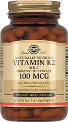 Натуральний вітамін К2 (менахінон-7) 100 мкг