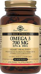 Подвійна Омега-3 700 мг ЕПК та ДГК
