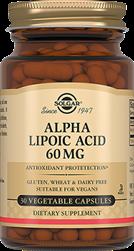 Альфа-ліпоєва кислота 60 мг