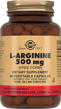 L-Аргінін 500 мг