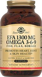 Комплекс жирних кислот 1300 мг Омега 3-6-9